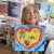 happy girl parsley pie art club gallery children kids painting craft classes parties hale cheshire