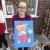 dog christmas stocking parsley pie art club children kids painting craft classes parties cheshire