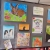14 hale library art exhibition children kids paintings gallery creative classes altrincham cheshire parsley pie art club