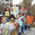 group of artists parsley pie art club children kids painting classes gallery creative club business