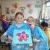 tissue paper collage flower parsley pie art club children kids painting classes gallery creative club business