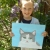 cat picture, parsley pie art club, painting craft classes parties