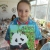 cute panda painting, parsley pie kids art craft classes children altrincham
