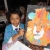 fantastical lion parsley pie kids art club, painting craft classes parties for children hale altrincham cheshire
