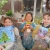 happy kids, parsley pie art club, painting craft classes parties for children hale altrincham cheshire