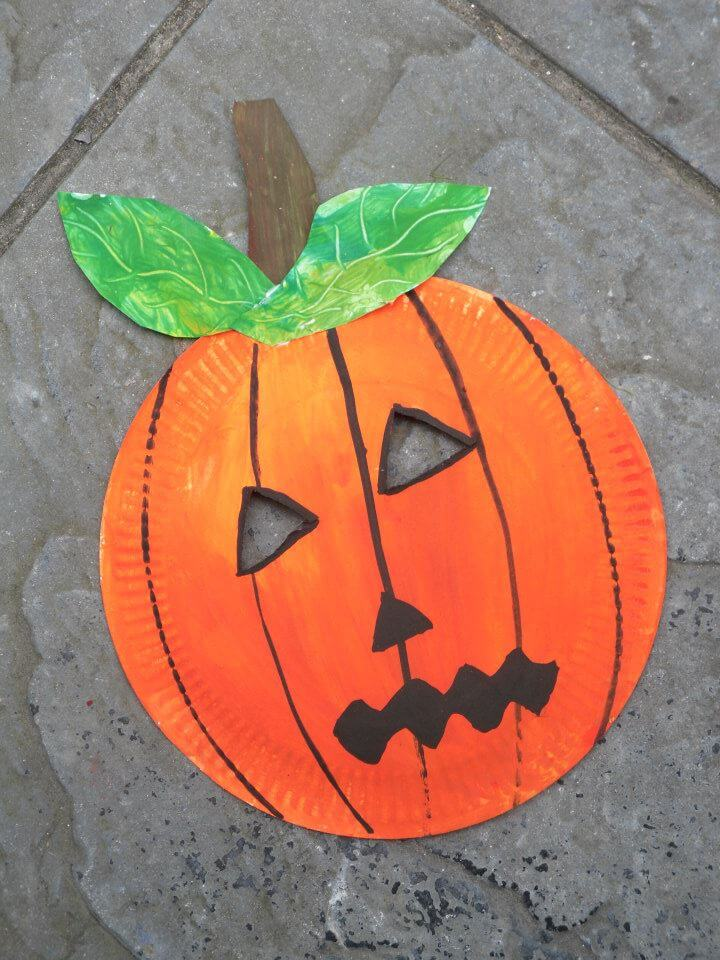 How to Make a Pumpkin Mask For Halloween How to Make a Pumpkin Mask