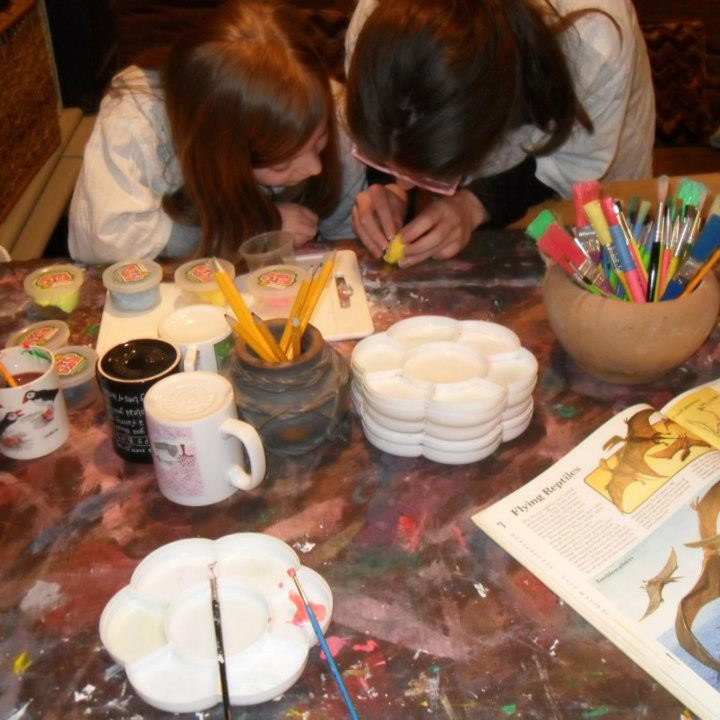 parsley pie kids art club whitefield childrens painting classes manchester