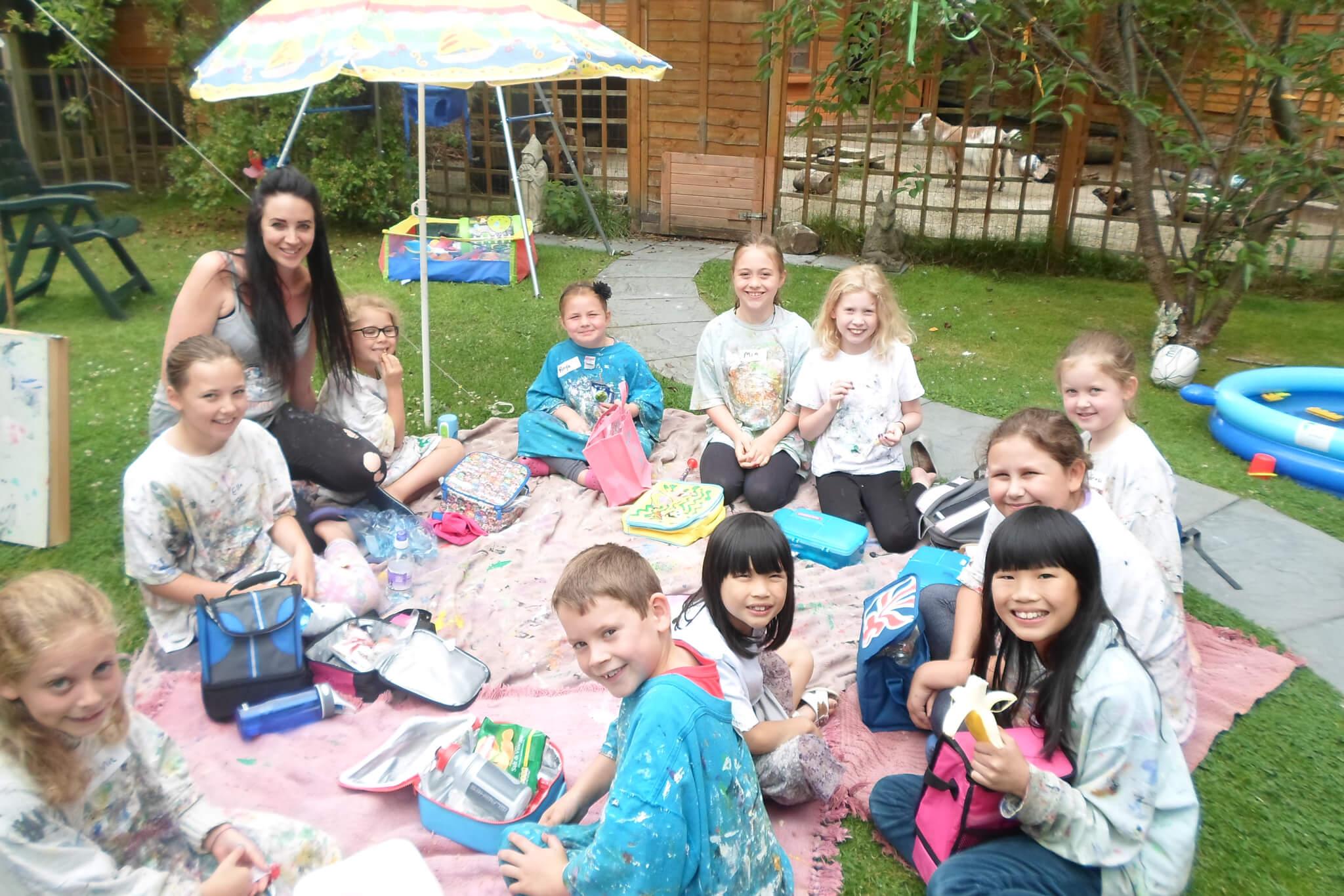 Summer 2013 part 2 kid 39 s art gallery children 39 s for Kids painting class