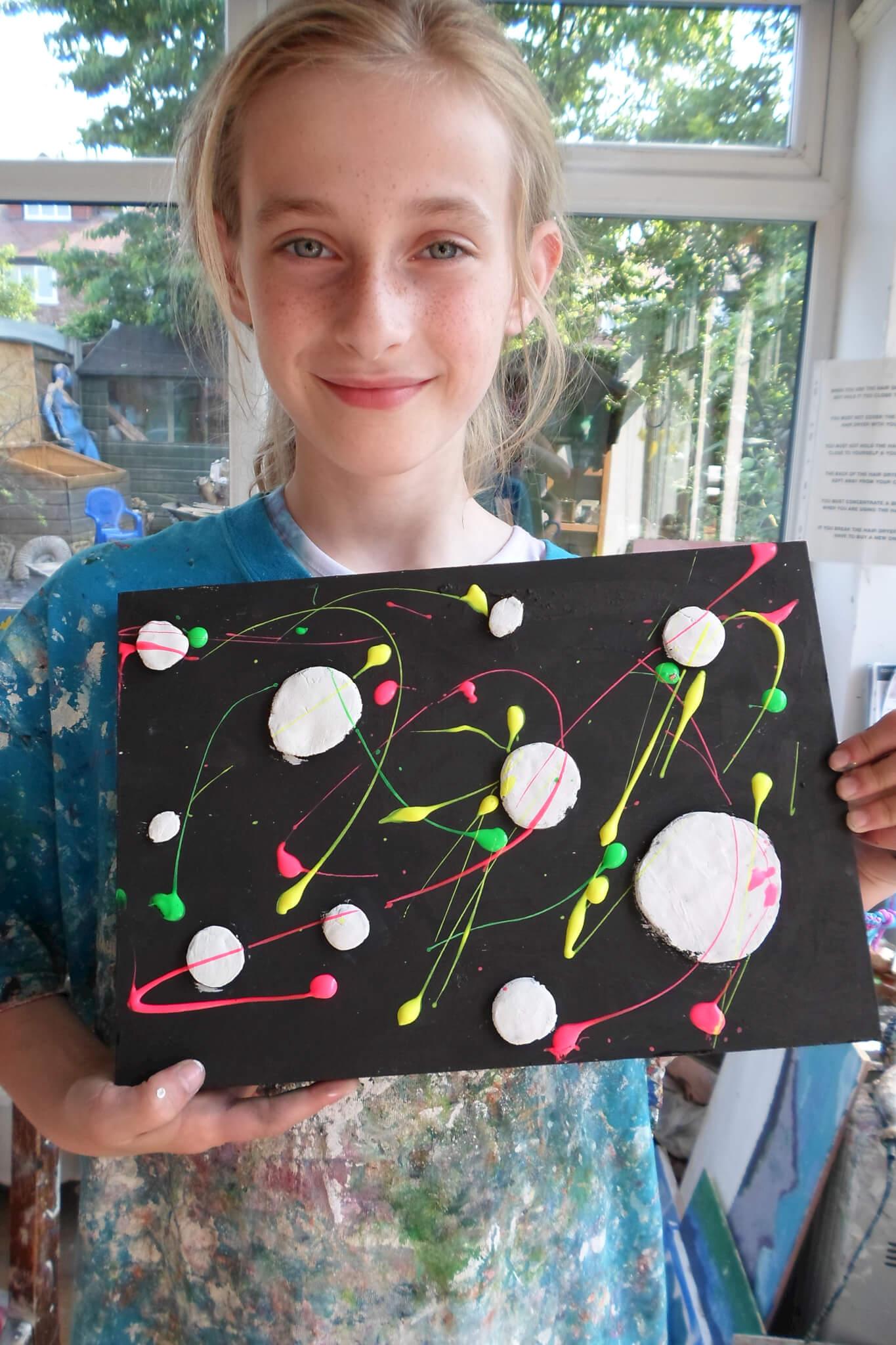 Summer 2013 Part 3 Amazing Works Of Art By Kids Parsley Pie Art Club