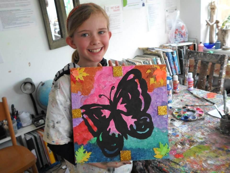 Kids art class children s art classes