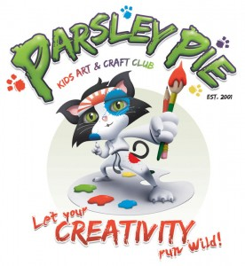 PARSLEY PIE KIDS ART CLUB, Parsley Pie children's art paintings, kids art and craft classes, painting lessons, arty parties, workshops, business opportunity, art franchise, jobs for artists