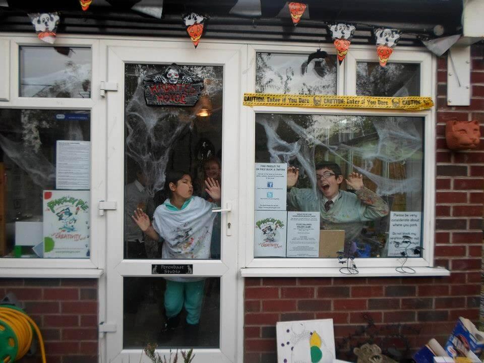 Pie kids art club halloween workshop halloween crafts children 3
