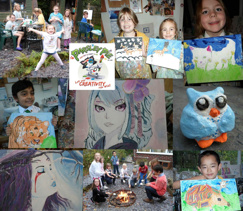 Start Your Own Art Club Business Parsley Pie Art Club