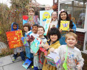 parsley pie art club hale classes workshops children kids