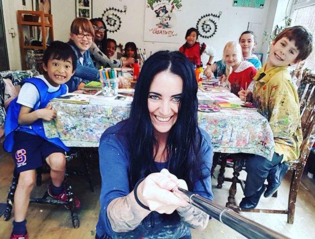 creative kids revolution, parsley pie art club for children