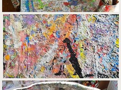 colourful art studio Archives - Parsley Pie Art Club