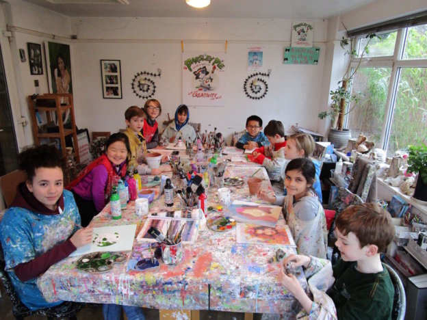 parsley pie kids art club hale cheshire manchester